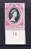 Malaysia-Negri Sembilan SG 67 1953 Coronation,mint Never Hinged - Negri Sembilan