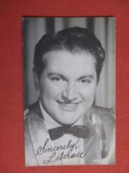 Blank Back Arcade Card   Liberace   Ref 3622 - Entertainers