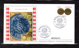 """"""" ANCIEN FRANC LOUIS II """" Sur Enveloppe 1er Jour De 2008. Parfait état FDC - Münzen"""