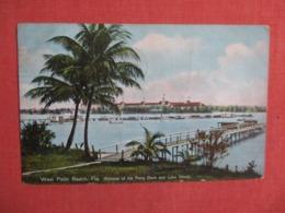 Ferry Dock & Lake Worth   - Florida > West Palm Beach   Ref 3622 - West Palm Beach