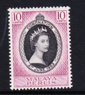 Malaysia-Perlis SG 28 1953 Coronation,mint Never Hinged - Perlis