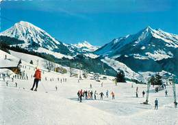 """CPSM  SUISSE """"Leysin, Ski"""" - VD Vaud"""