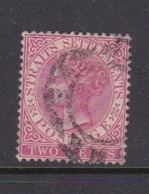 Malaysia-Straits Settlements SG 63 1883 Queen Victoria 2c Rose,used - Straits Settlements