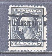 U.S. 507   Perf. 11    PA.  STATE    1917  Issue - Precancels