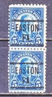 U.S. 557   Perf. 11    PA.  STATE    1922  Issue - Precancels