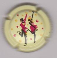 Capsule Champagne CHARLES-HESTON 6 COTEAUX ( 2 ; Danceurs Rouges ) {S38-19} - Champagne