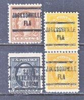 U.S. 503 +    Perf. 11  (o)   FLORIDA  STATE    1917  Issue - Precancels