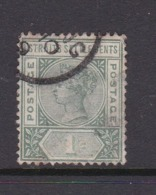 Malaysia-Straits Settlements SG 95 1892 Queen Victoria One Cent Green,used - Straits Settlements