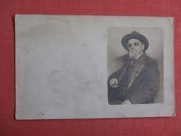 RPPC  Man With Sun Glasses Cigar     > Ref 3623 - To Identify