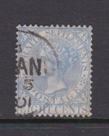 Malaysia-Straits Settlements SG 101 1894 Queen Victoria 8c Ultramarine,used - Straits Settlements