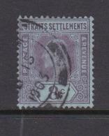 Malaysia-Straits Settlements SG 114 1902 King Edward VII,1902  4c Purple Red,used - Straits Settlements