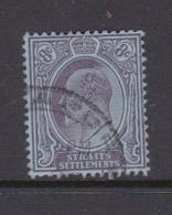 Malaysia-Straits Settlements SG 126 1904 King Edward VII,8c Purple Blue,Used - Straits Settlements
