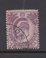 Malaysia-Straits Settlements SG 128 1903 3c Purple Used - Straits Settlements
