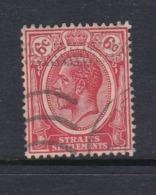 Malaysia-Straits Settlements SG 229 1922 King George V 6c Scarlet,used - Straits Settlements