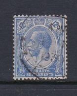 Malaysia-Straits Settlements SG 232 1922 King George V 12c Blue,used - Straits Settlements