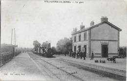 Carte Postale - VILLAINES-la-JUHEL ( Mayenne 53 ) - La Gare -Train - Années 1910 - Villaines La Juhel