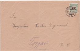 Inflation: Brief Von Übig Nach Torgau 26.11.1923 - Allemagne