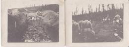MILITAIRES ENTERREMENT ET BENEDICTION DES MORTS PHOTO - Guerre 1914-18