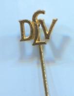 ATHLETICS / ATHLETISME - DLV Germany Association, Vintage Pin, Badge, Abzeichen - Athletics