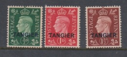 Moricco Agencies 1937 King George VI,mint Hinged - Morocco Agencies / Tangier (...-1958)