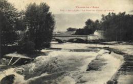 VALLEE DE L'AUDE  QUILLAN Le Pont Et La Chute De L'Aude Labouche  RV - Frankreich
