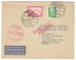 22296 - Catapulté Du EUROPA - Airmail