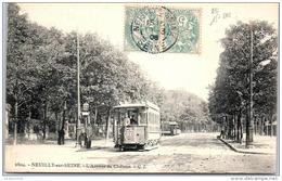 92 NEUILLY SUR SEINE - L'avenue Du Château (tramway) - Neuilly Sur Seine