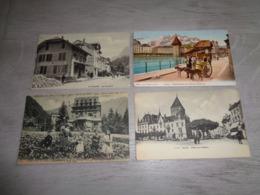 Beau Lot De 60 Cartes Postales De Suisse    Mooi Lot Van 60 Postkaarten Van Zwitserland  Switserland  Svizzera  Sweiz - 5 - 99 Cartes