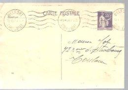 CARTE POSTALE  1938 BELFORT - Enteros Postales