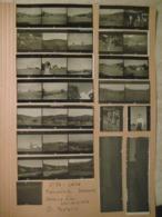 31 PROVINI FOTO SU FOGLIO 1947 PIAMPALUDO CONTADINI PAESAGGI  E ALTRO - Places