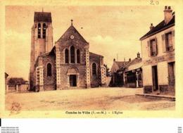 77 . Seine Et Marne .  Combs La Ville .   L ' église . - Combs La Ville