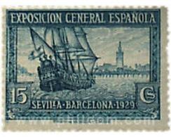 Ref. 613218 * MNH * - SPAIN. 1929. BARCELONA AND SEVILLA EXHIBITIONS . EXPOSICION  DE BARCELONA Y SEVILLA - Nuovi