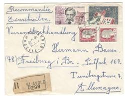 22313 - De St AVOLD Pour L'Allemagne - Marcophilie (Lettres)