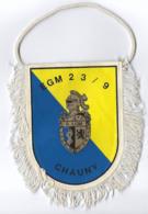 FANION EGM 23/9 CHAUNY ESCADRON DE GENDARMERIE MOBILE - Drapeaux