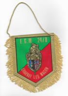 FANION EGM 24/8 CHARNAY LES MACON 8° LGM , ESCADRON DE GENDARMERIE MOBILE - Drapeaux