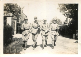 PHOTO ORIGINALE 41em RI 1935 A CESSON ILE ET VILAINE - Guerre, Militaire