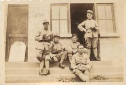 PHOTO ORIGINALE 41em RI 1935 A SAINT GREGOIRE  ILE ET VILAINE - Guerre, Militaire