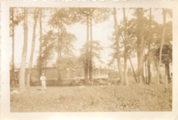 PHOTO ORIGINALE  CAMP DE COETQUIDAN 1935 - Guerre, Militaire
