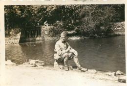 PHOTO ORIGINALE  FORGES PAIMPONT 41em RI 1935 - Guerre, Militaire