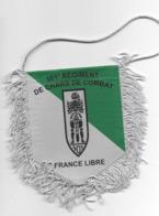 FANION 501° RCC FRANCE LIBRE REGIMENT DE CHARS DE COMBAT - Drapeaux