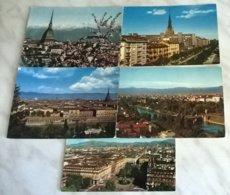 5 CART.  TORINO   (110) - Cartoline