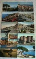 10 CART.  NAPOLI   (111) - Cartoline