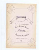 CASSINO - PROGRAMMA DELLE MATERIE STUDIATE NELLE  SCUOLE MUNICIPALI DIRETTE DALLE SUORE DI CARITA' -1899 - Documenti Storici