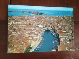 Venise - Vue De L'avion Du Canal Grande - Venezia