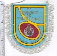 FANION 1° REGIMENT DE TIRAILLEURS - Drapeaux