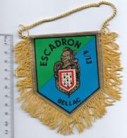 FANION GENDARMERIE ESCADRON 4/13 BELLAC - Flags