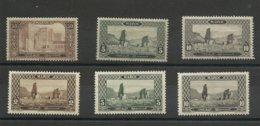 Maroc, Gravés, N° 75*, 78(*) 79*, 120*, 122*, 123*, Cote YT 118€10 - Marokko (1891-1956)