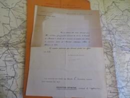 LOT DE VIEUX PAPIERS DIVERS VRAIMENT A VOIR ET A ETUDIER SUPER,lire Description - Vieux Papiers