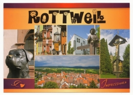 Rottweil Am Neckar - Impressionen - 5 Ansichten - Rottweil