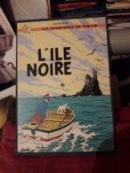Planche En Bois Tintin L'ile Noire 20x29 Cm - Tintin